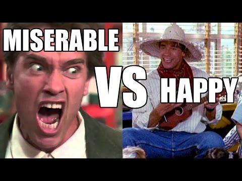Tim Muriello and Big J – Happy Bodybuilder vs Miserable Bodybuilder
