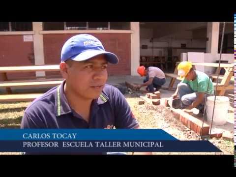 Escuela Taller Municipal, un espacio de aprendizaje