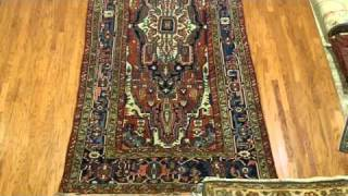 Antique Serapi Heriz Rug Persian Carpet