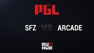 Arcade vs ScaryFaceZ, game 1