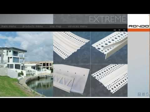 Rondo EXTREME® PVC Beads for Plasterboard & Render