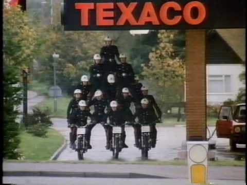 Texaco 1980's UK advert