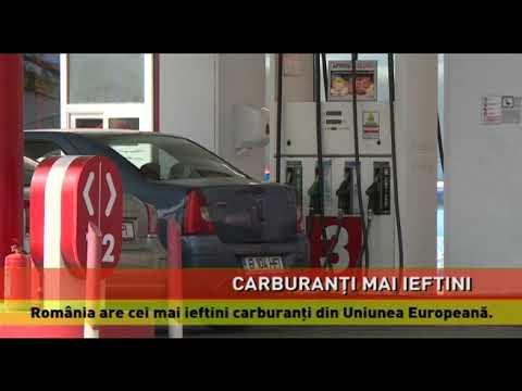 Cei mai ieftini carburanti din Uniunea Europeană, în România