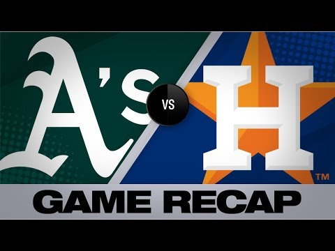 Video: A's erupt for 21 runs in win over Astros | Athletics-Astros Game Highlights 9/10/19
