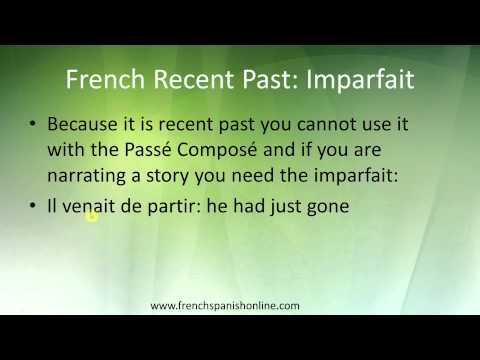 Perfekt - Französische Zeiten