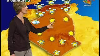 Retrouvez la météo de cet après-midi sur Canal Algérie