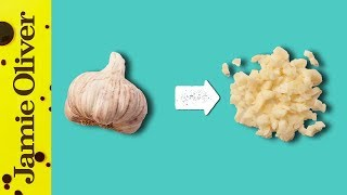 How To Chop Garlic | 1 Minute Tips | Jamie Oliver by Jamie Oliver