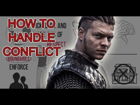 how to handle confrontations like an alpha male (vikings spoilers)