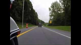 8. FAST HARLEY RIDE * Harley Davidson Electra Glide Police FLHTPI