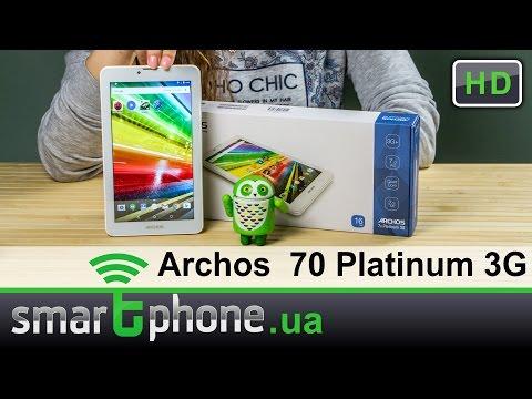 Archos 70 Platinum 3G - Обзор. Смартфон и планшет до $100