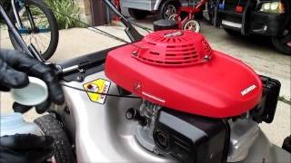 9. How To Do An Oil Change On Most HONDA Lawn Mower Models
