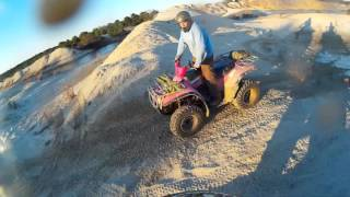9. Arctic cat 400 4x4 playing in some MUDD!!
