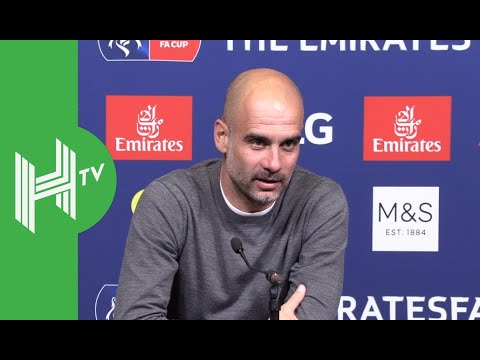 Pep Guardiola SNAPS at reporter after Man City complete treble
