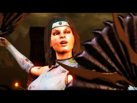Mortal Kombat X - Endless Tower with Kitana (Royal Storm) (видео)