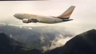 World War Z plane scene