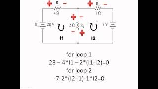 How to apply KVL to circuits