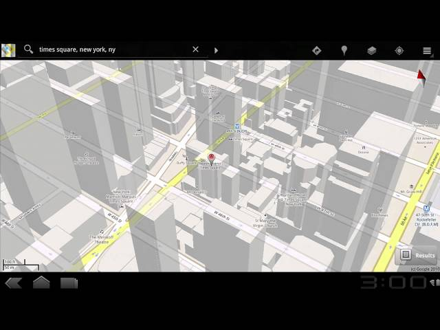 Maps: First Look: T-Mobile G-Slate with Google by LG