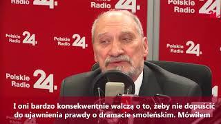 """Macierewicz:""""W tym roku już napewno dowiemy się prawdy o zamachu"""""""