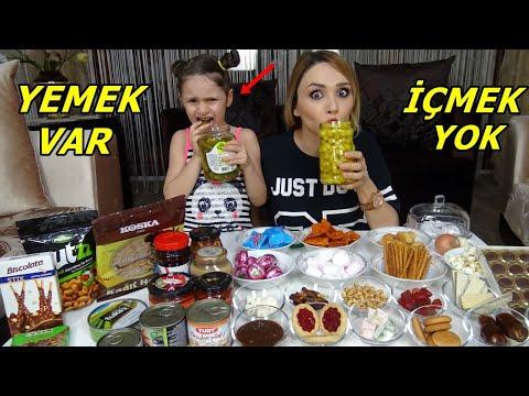 Lina İle Yemek Var İçmek Yok Challenge| Cezalı Oyun