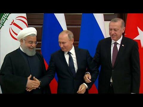 Tριμερής Σύνοδος για τη Συρία στην Τουρκία