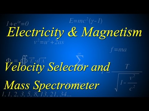 Velocity Selector and Mass Spectrometer Exam Style Questions