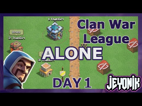 MESSED UP the PERFECT WAR | Clash of Clans 2020 | 15v15 | CWL ALONE