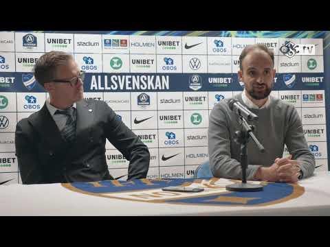 Presskonferens efter IFK Norrköping - ÖSK
