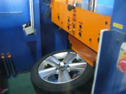Проверка прочности диска WSP Italy W463 Cross Polo на косой удар обода (Volkswagen)