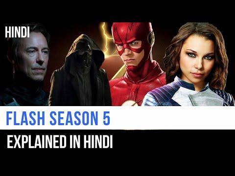 Flash Season 5 Recap In Hindi   Captain Blue Pirate  