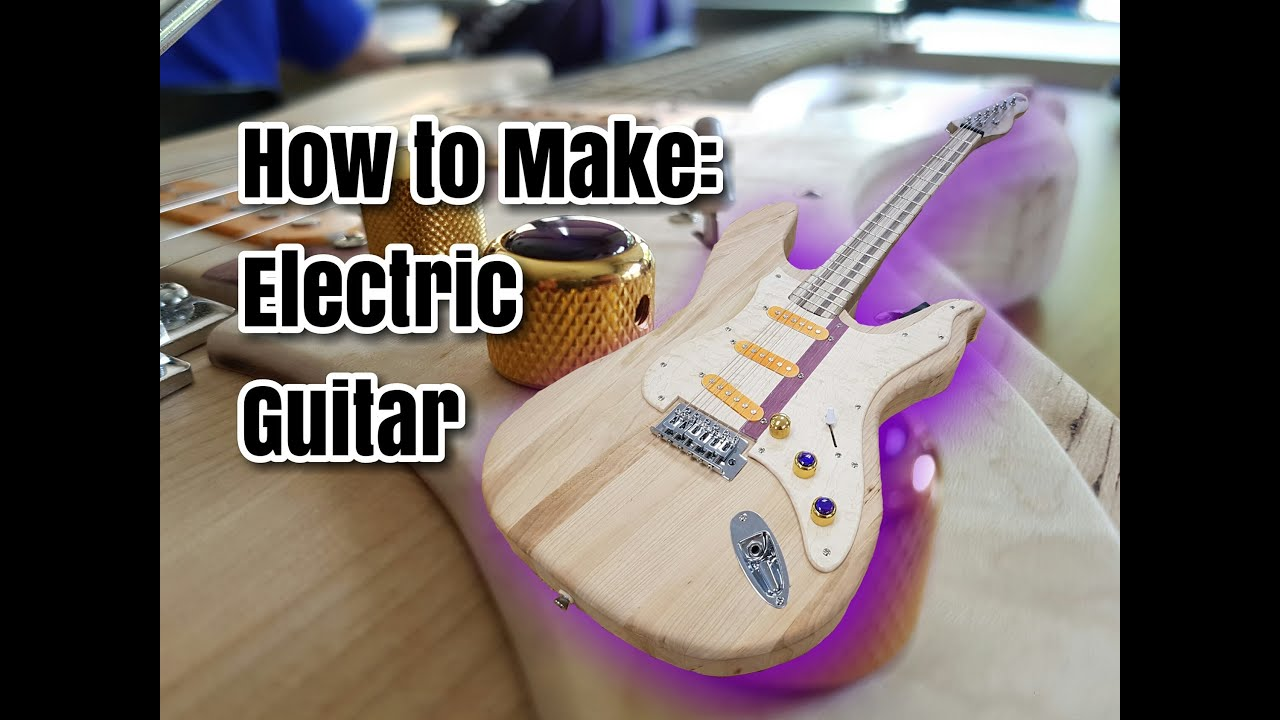Teen Makes Electric Guitar From Scratch!