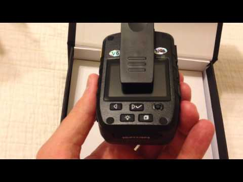 Unboxing - Safevant 1296P HD Police Body Camera, Multi-functional Body Worn Camera with 32GB Memory