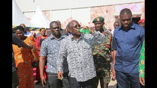 Rais wa jamhuri ya Muungano wa Tanzania, John Pombe Magufuli, amezindua rasmi mtambo wa kusafisha na kusukuma maji...