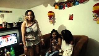 Ethiopian Girl Edionawait Celebrite Birth Day In The Greece
