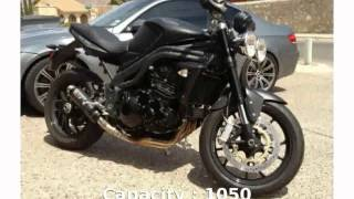 10. Triumph Speed Triple Matt Black -  Dealers Specification