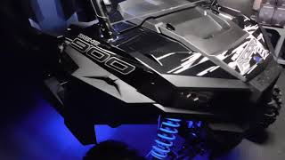 3. 2018 Polaris® RZR® S 900 EPS Black Pearl