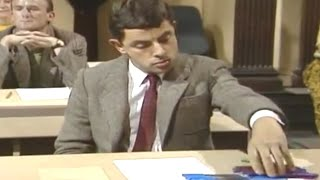 Mr Bean - Essential exam equipment