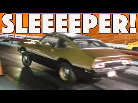 Sleeper at the strip comes in the form of a turbo Maverick