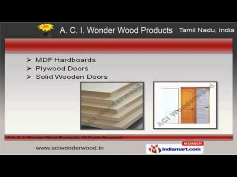 A. C. I. Wonder Wood Products