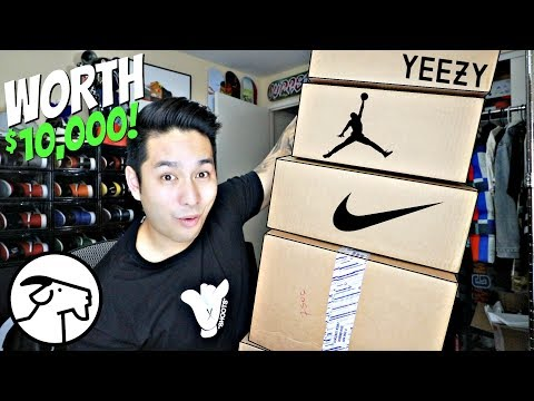 Unboxing Some Of The MOST EXPENSIVE Sneakers From GOAT App! (WORTH THOUSANDS!)