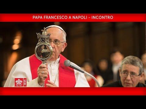 """Papa Francesco battezza a Napoli la nuova """"Teologia del Mediterraneo"""""""