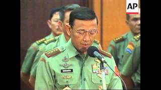Video INDONESIA: LIEUTENANT GENERAL PRABOWO SUBIANTO IS DISMISSED MP3, 3GP, MP4, WEBM, AVI, FLV November 2018