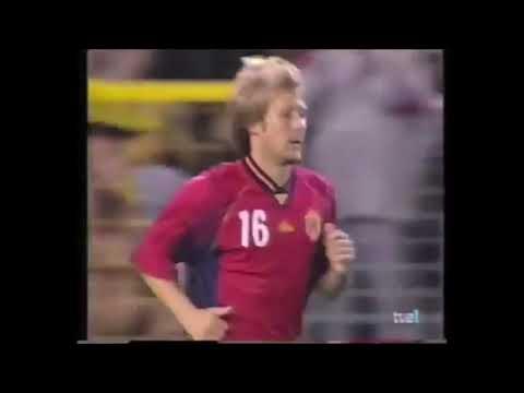 Debut Selección Española