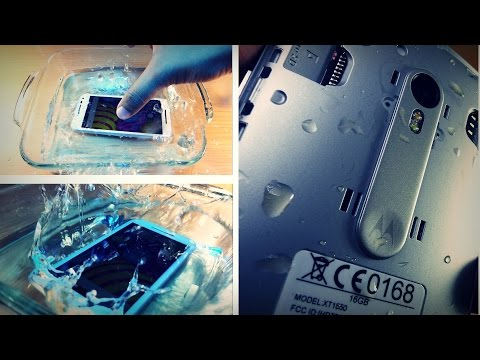 Download MOTO G3 3rd Gen Water Drop Test!