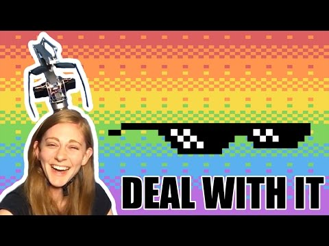 Girl Invents Deal With It Robot