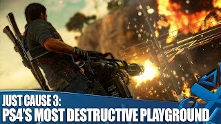 JC3: 7 Reasons It's The Most Destructive Playground on PS4