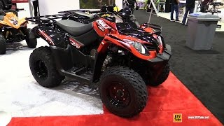 7. 2017 Kymco MXU 270 Recreational ATV - Walkaround - 2016 AIMExpo Orlando