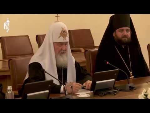 Патриарх Кирилл встретился с Премьер-министром Болгарии Бойко Борисовым