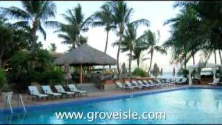 http://travelandlifestyletv.com Grove Isle Hotel and Spa in Miami, your private island retreat that distances you from mainland ...