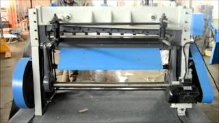 Электромеханическая гильотина ETG 1330 (Q11-3x1300) Metalmaster