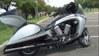 3. 2011 Victory Vision Tour with Arlen Ness extras and D&D exhaust